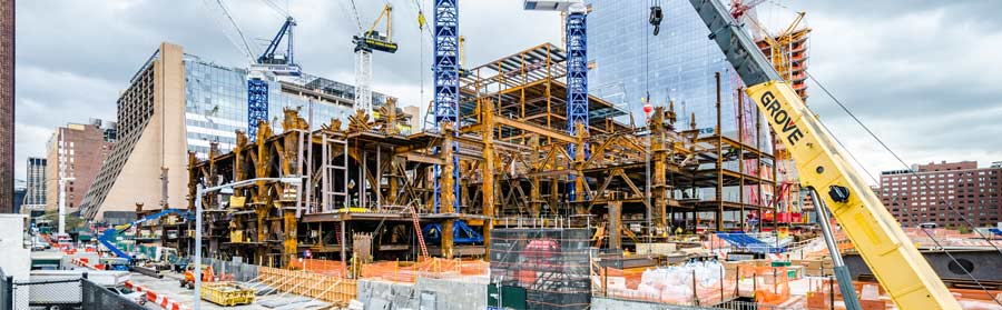 Baustelle Hudson Yards, NYC