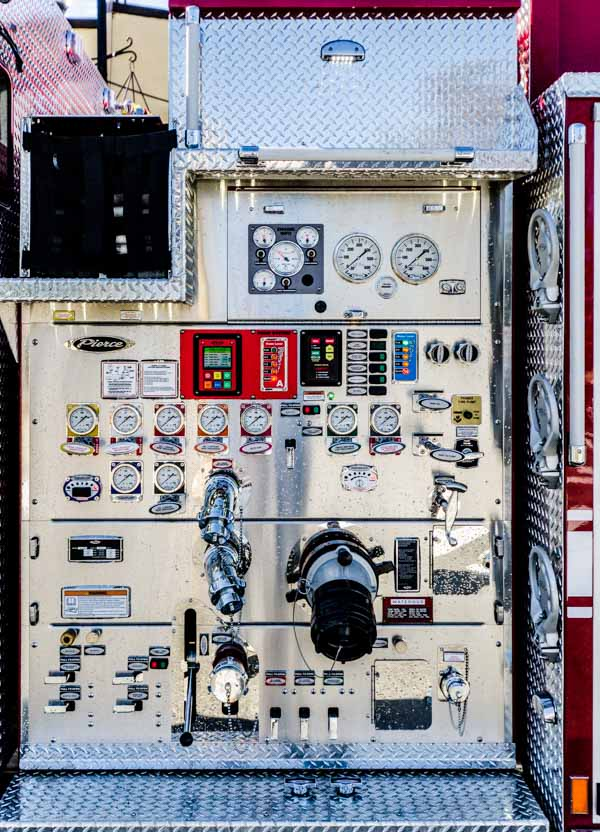 Firefighter Truck Instruments