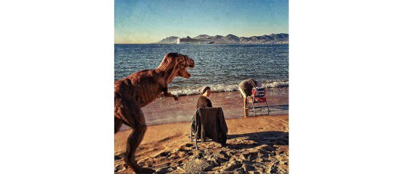 Google T-rex