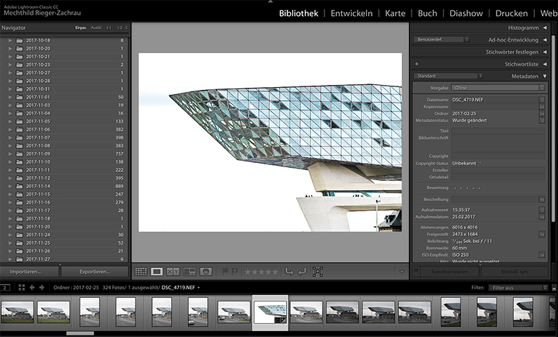 Lightroom im Praxiseinsatz