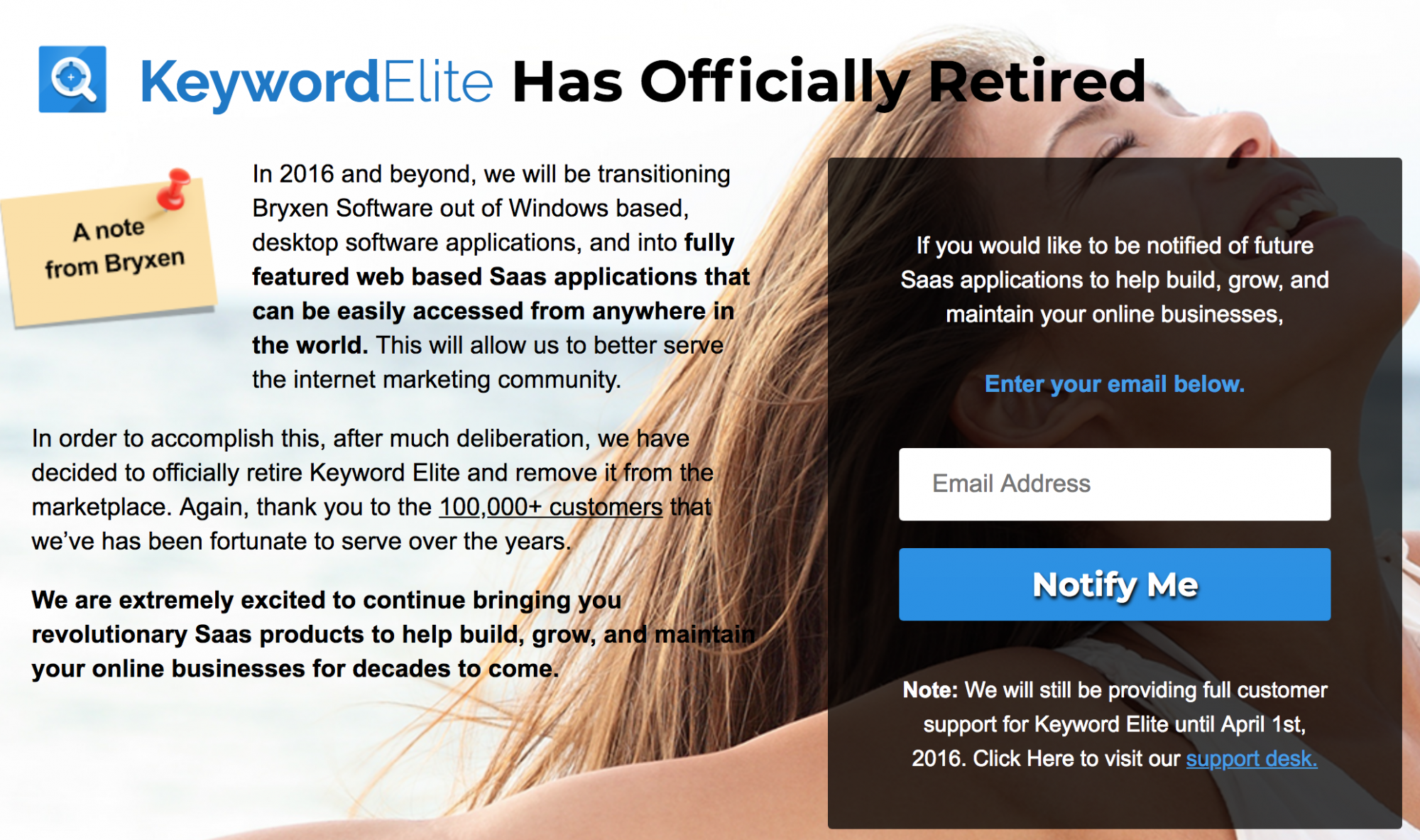 Keyword-elite retirement