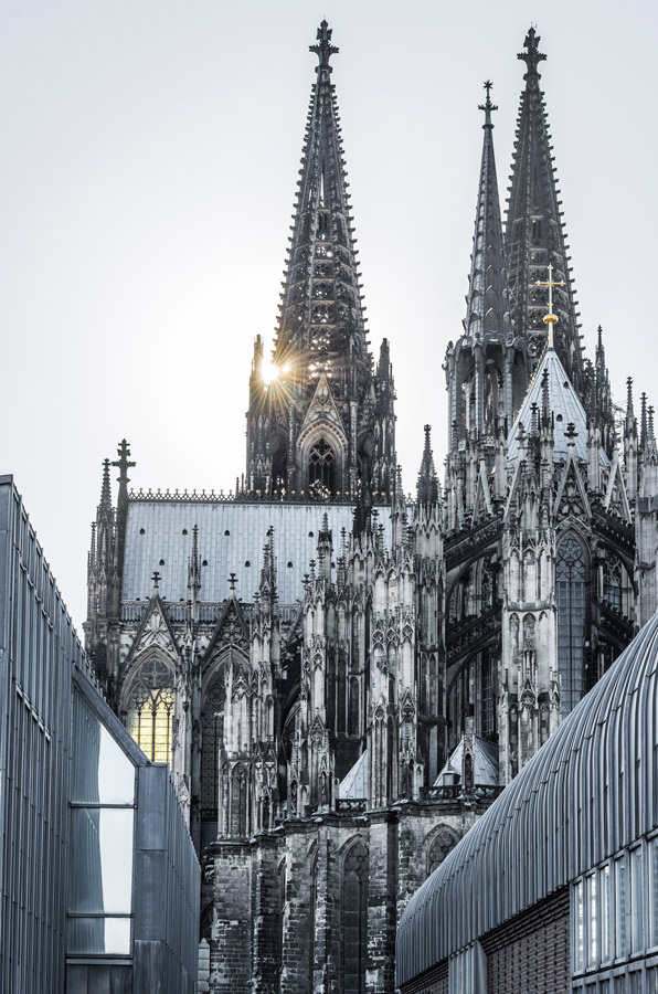 Cologne Cathedral Backlight